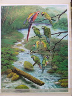 Birds - Theme collection on old Clipper album