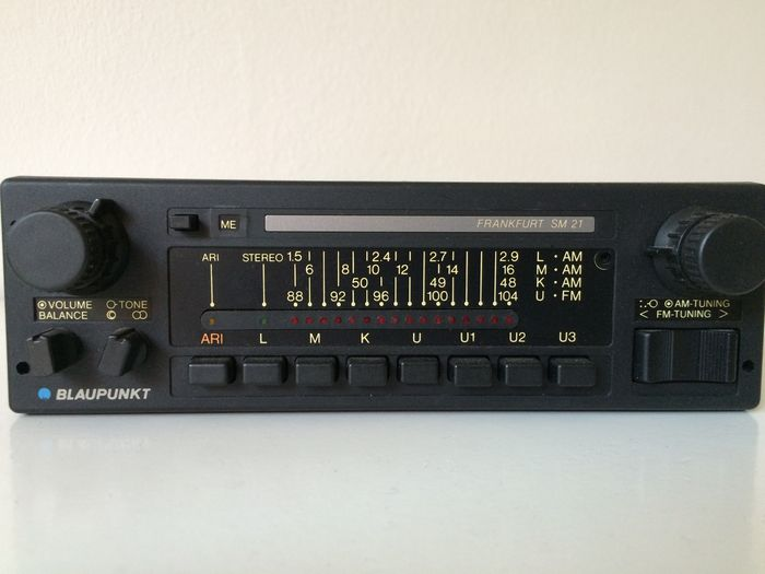 blaupunkt frankfurt sm21 stereo car radio 1982 catawiki. Black Bedroom Furniture Sets. Home Design Ideas