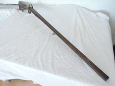 Rare Hunting Shotgun 1840 to 1860 From France (Barrel 99cm)
