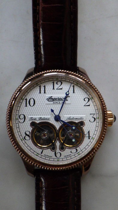 Ingersoll G 316 Rose plated Limited Edition with double balance - Wristwatch for sale  London