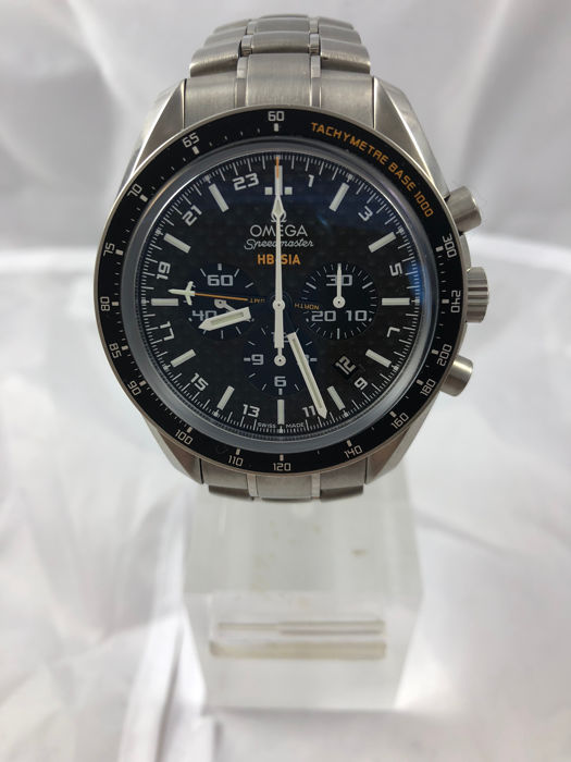 omega - hb-sia co-axial gmt chronograph numbered
