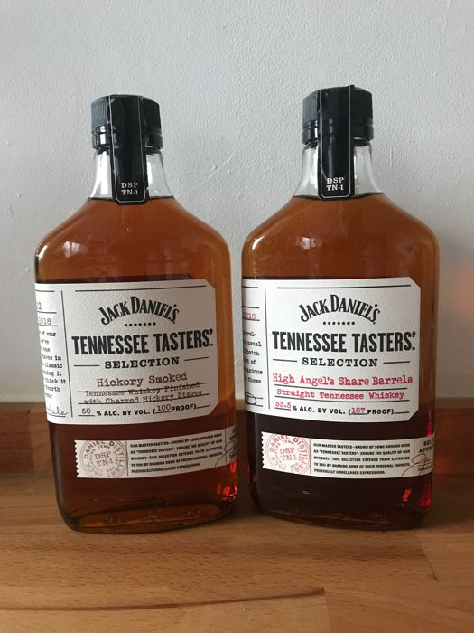 Jack Daniels Tennessee Tasters Selection - Hickory Smoked & High Angels Share - 375 ml gebraucht kaufen