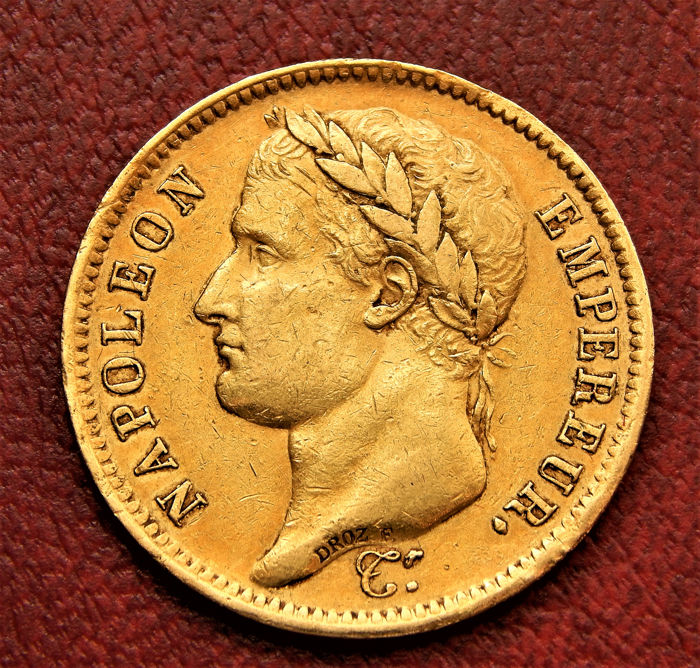 40 Francs 1811-A Napoléon I - Or
