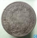Frankreich 2 Franc 1849 (A)
