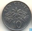 Coins - Singapore - Singapore 10 cents 1986