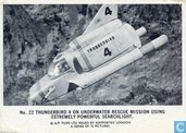 Thunderbird 4 on underwater rescue mission using extremely powerfull searchlight.