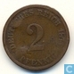 German Empire 2 pfennig 1874 (A)