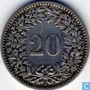 Coins - Switzerland - Switzerland 20 rappen 1883