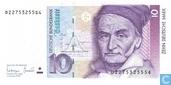 Deutschland 1993 10 Mark