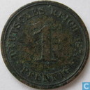 Coin - Germany - German Empire 1 pfennig 1874 (A)
