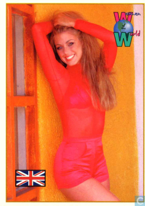 Trading cards - Women of the World - 1994 - Helen Labdon