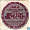 Vinyl record and CD - Anninck, Linda - Sing a song Tina-trio-test