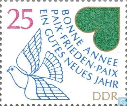 Briefmarken - DDR - Neujahr