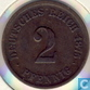 German Empire 2 pfennig 1875 F