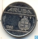 Aruba 10 cent 1988