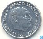 Coins - Spain - Spain 10 centimos 1959