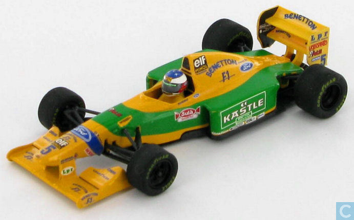 Model cars  Onyx  Benetton B193B  Ford 39;Kastle39;