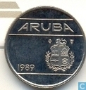 Aruba 10 cents 1989