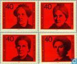 Stamps - German Federal Republic - Famous women