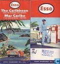 Map and globe - Map - Esso Caraibisch Gebied