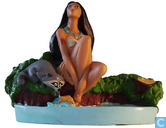 Pocahontas soap dish