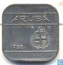 Aruba 50 cents 1988