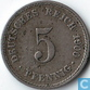 German Empire 5 pfennig 1900 (A)
