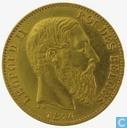 Coins - Belgium - Belgium 20 francs 1874