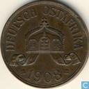 Deutches Ost-Afrika 5 Heller 1908