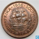 Coins - South Africa - South Africa 1 penny 1956