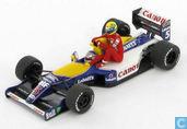 Williams FW14 - Renault 'Senna riding on Mansell'