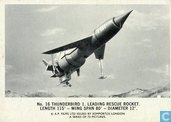 Thunderbird 1. Leading rescue rocket. Length 115' - wing span 80' - diameter 12'.