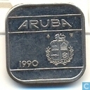 Aruba 50 cents 1990