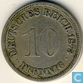 German Empire 10 pfennig 1873 (A)