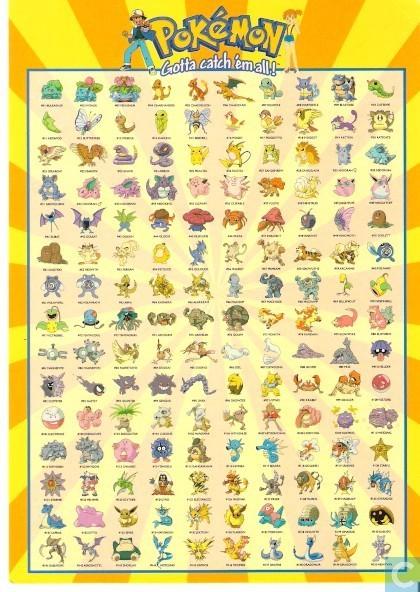 pokemon alle 150