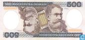 Brazil 500 cruzeiros