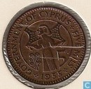 Coins - Cyprus - Cyprus 5 mils 1955
