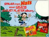 Spaar met Nuts voor gratis Guust Flater Album