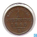 Prussia 1 pfenning 1868 (B)