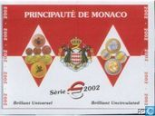 Monaco year set 2002