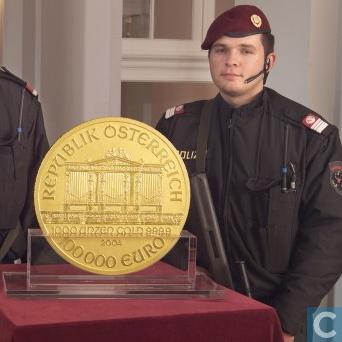 Austria 100.000 Euro 2004