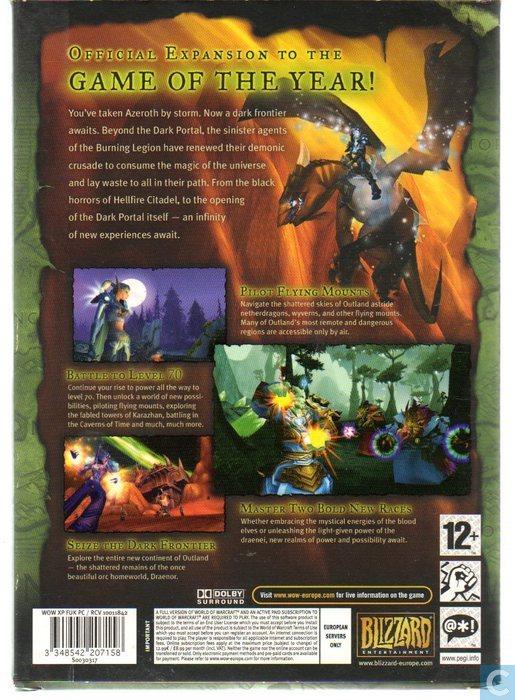 World of warcraft game burning crusade trailer