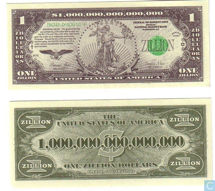 Banknote pnl 1-million 2000