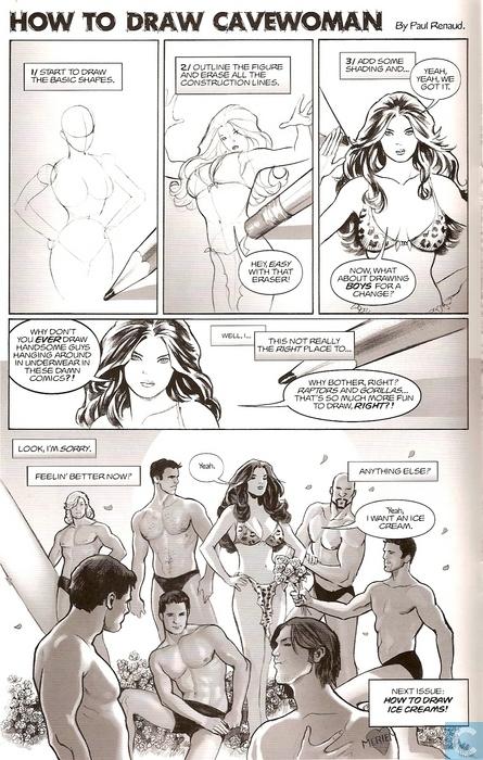 jungle tales of cavewoman