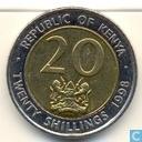 Coins - Kenya - Kenya 20 shillings 1998