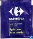 Tea bags and Tea labels - Carrefour - Après repas