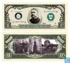 Banknotes - Presidents of The United States - CHESTER A. ARTHUR 21th president of the U.S.