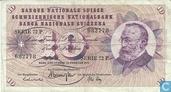 Schweiz 10 Franken 1971