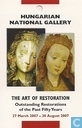 Hungarian National Gallery - The Art Of Restoration