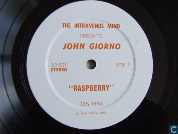 John Giorno Raspberry Pornographic Poem